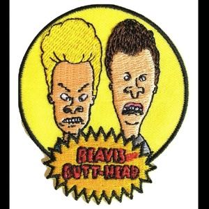 Other - Beavis and Butt-head Patch iron on patches DIY